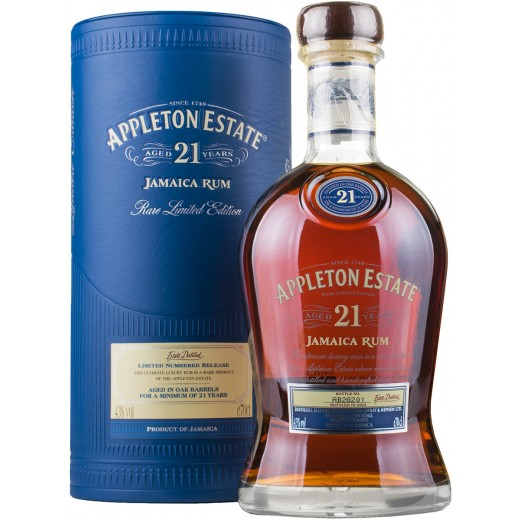 Appleton Estate 21 år Rare Limited Edition 43%-31
