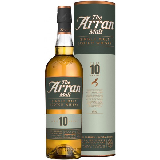 Arran 10 år Single Malt Whisky 46%-31