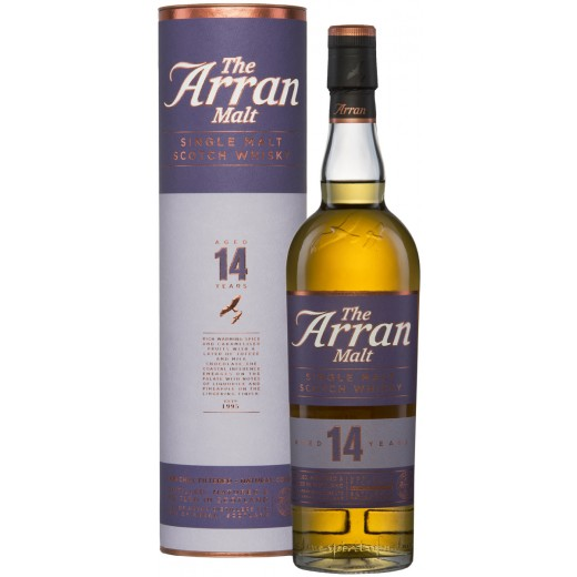Arran 14 år Single Malt Whisky 46%-31