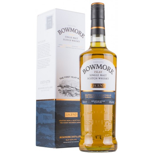 Bowmore Legend Single Islay Malt Whisky 40%-31