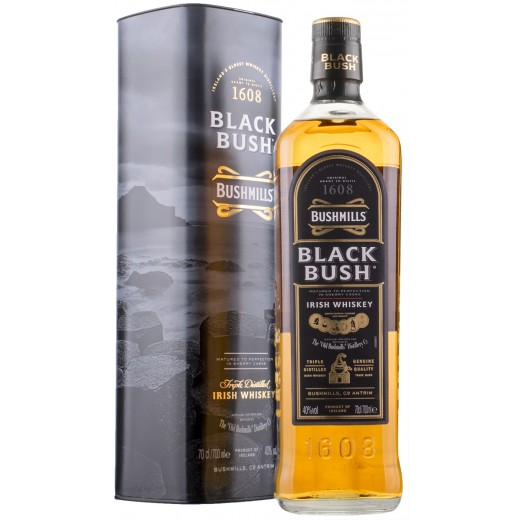 Bushmills Black Bush Single Malt Irish Whiskey 40%-31