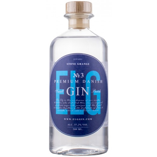 ELG No. 3 Premium Danish Navy Strength Gin 57,2%, 50 cl-31