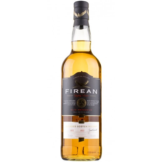 Firean Lightly Peated Old Reserve, Blended Scotch Whisky 43%-31