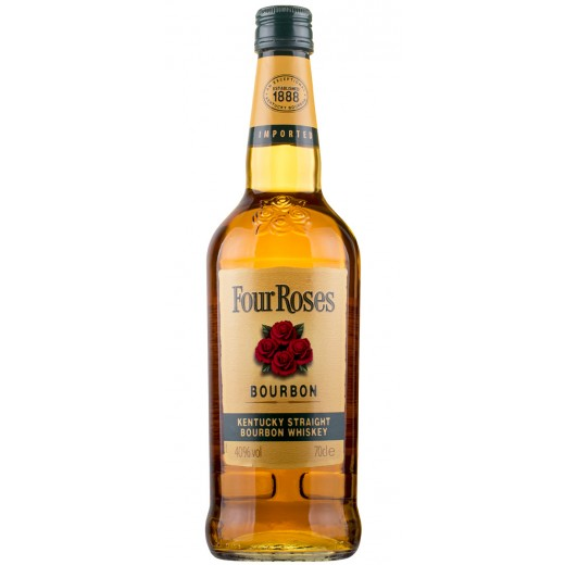 Four Roses, Kentucky Straight Bourbon Whiskey 40%-31