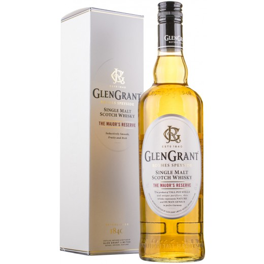 Glen Grant The Majors Reserve, Single Malt Scotch Whisky 40%-31