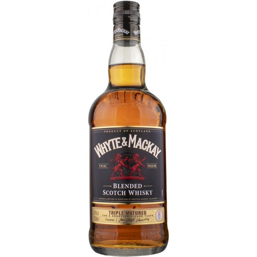 Whyte and Mackay Special Blended Scotch Triple Matured Whisky 40%-31