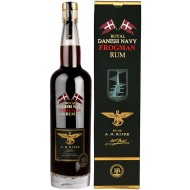 A.H. Riise FROGMAN Royal Danish Navy Rum, 58%-21