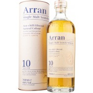 Arran 10 år Single Malt Whisky (New Label) 46%-20