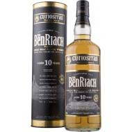 BenRiach 10 år Curiositas Peated Single Malt 46%-20