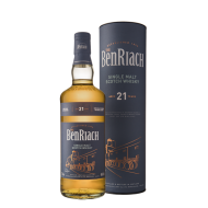 BenRiach 21 Års Single Malt Whisky 46%-20