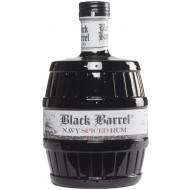 A.H. Riise Black Barrel Rum Navy Spiced Rum 40%-20