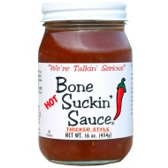 Bone Suckin HOT Sauce, Thicker Style North Carolina USA 454g-20