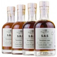 Caroni Rom gavesæt S.B.S. Single Barrel Selection Cask Strength 4 x 20cl-20