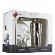 Crystal Head Vodka + Cocktail Shaker 70cl 40%-20