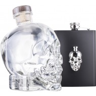 Crystal Head Vodka + Lommelærke 70cl 40%-20