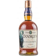 Doorlys 12 år Fine Old Rum, Barbados 40%-20