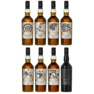 Game of Thrones Collection, 8 Flasker Single Malt Whisky-20