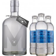 Gin and Tonic FCM London Dry Gin + 3 stk. Franklin Mallorcan Tonic-20