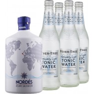 Gin and Tonic Nordes Gin + 4 stk. Fever-Tree Refreshingly Light Tonic-20