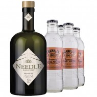 Gin and Tonic Needle Gin + 4 stk. Franklin Rosemary and Black Olive Tonic-20