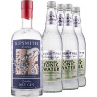 Gin and Tonic Sipsmith Gin + 4 stk. Fever-tree Cucumber Tonic-20