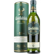 Glenfiddich 12 år Single Malt Whisky 40%-21