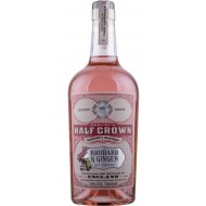Half Crown Rhubarb and Ginger Gin Likør Rokeby 20%-20