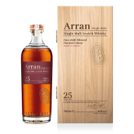 Arran 25 Years Old Single Malt Whisky 46%-20