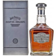 "Jack Daniels ""Silver"" Select Single Barrel Tennessee Whiskey 50%-20"