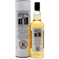 Kilkerran 8 års, Cask Strength, Campbeltown Single Malt Scotch Whisky 56,5%-20