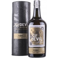 Kill Devil Sancti Spiritus Destillery Cuba 17 år, Single Cask Rum 46%-20