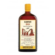 Hampden 2010 CH Jamaica Pure Single Rum Habitation Velier 68,5%-20