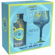 Gavesæt Malfy Gin Con Limone med Glas 41%-21