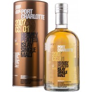 Port Charlotte, 2007 CC:01, Heavely Peated Islay Single Malt Whisky 57,8%-21