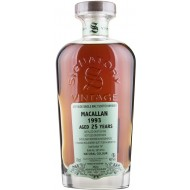 Macallan 1993, 30th Anniversary 25 år Signatory Vintage, Speyside Single Malt Scotch Whisky 48%-20