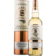 Mannochmore 2007, 10 år Signatory Vintage Single Malt Scotch Whisky 43%-20