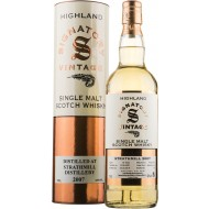 Strathmill 2007, 10 år Signatory Vintage Single Malt Scotch Whisky 43%-20