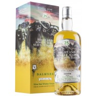 Silver Seal 1990 Dalmore 25 år Single Malt Whisky 55,5%-20