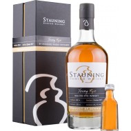 Stauning Young Rye Danish Malted Rye Whisky 2017 51,1% 50cl + 2cl. smagsprøve-20