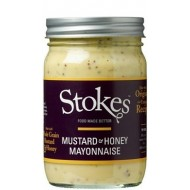 Stokes Honey Mustard Mayonnaise 360g-20