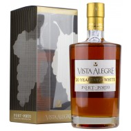 Vista Alegre 20 år Old White Portvin, Portugal 20% 50cl-20
