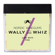 Wally and Whiz Vingummi, Lime med Figen 140g-20