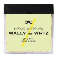 Wally and Whiz Vingummi, Lime med sur Citron 140g-21